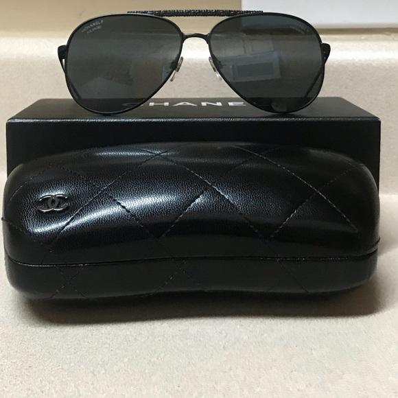 2121e12c8b6 CHANEL Accessories - Chanel 4231 c.101 T8 Polarized Women s Sunglasses